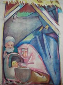 Jean Charlot's Nativity