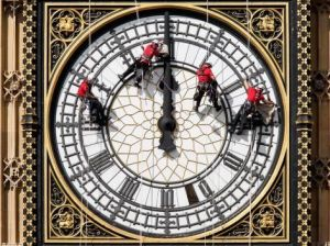 big ben - fixing the clock