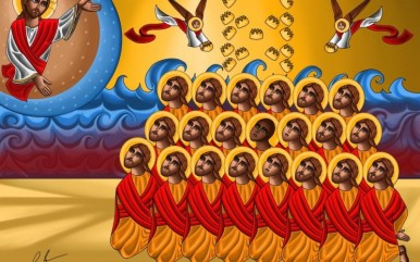 Coptic Icon 21 Martyrs